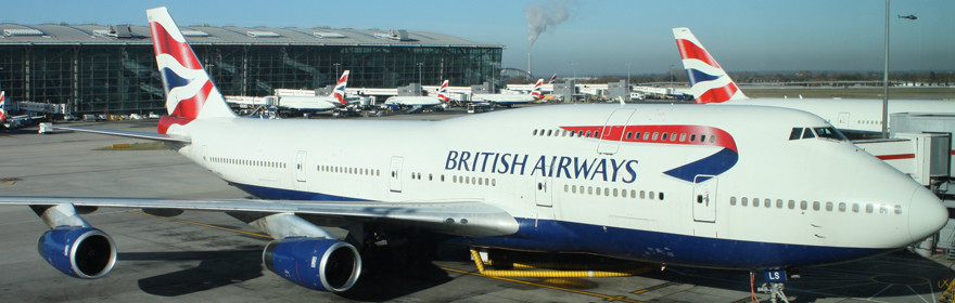 Boeing 747 en Londres Heathrow – Reino Unido