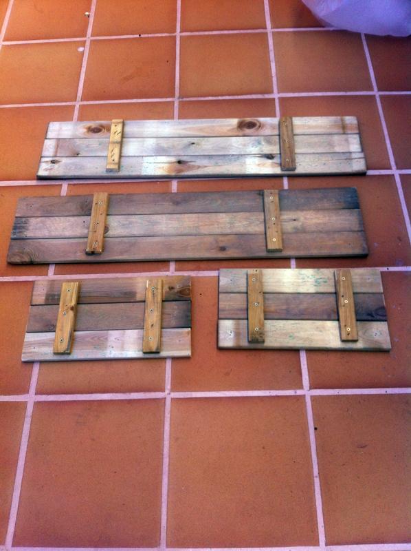 Construcci n de una mesa de cultivo casera y barata men for Mesa de cultivo casera