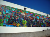 Mural entrada Martin Luther King National Historic Site