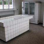 Sala de autopsias y experimentación médica
