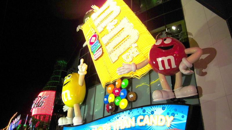 Tienda M&M's de Las Vegas