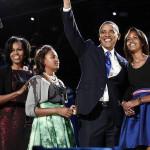 Obama en familia