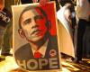 Esperanza en los carteles electorales