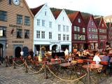 Barrio de Bryggen de Bergen