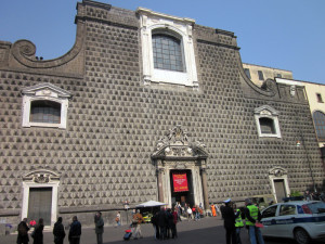 Exterior iglesia Gesù Nuovo